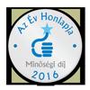 Az év honlapja 2016 minőségi díj